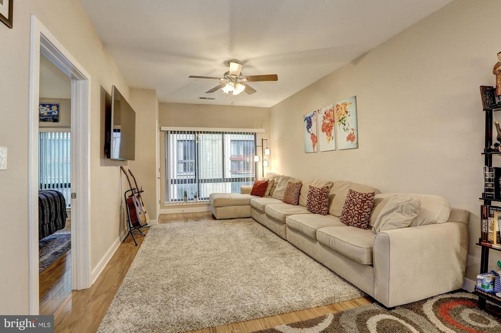 Living Room - 8005 13TH ST #302, SILVER SPRING