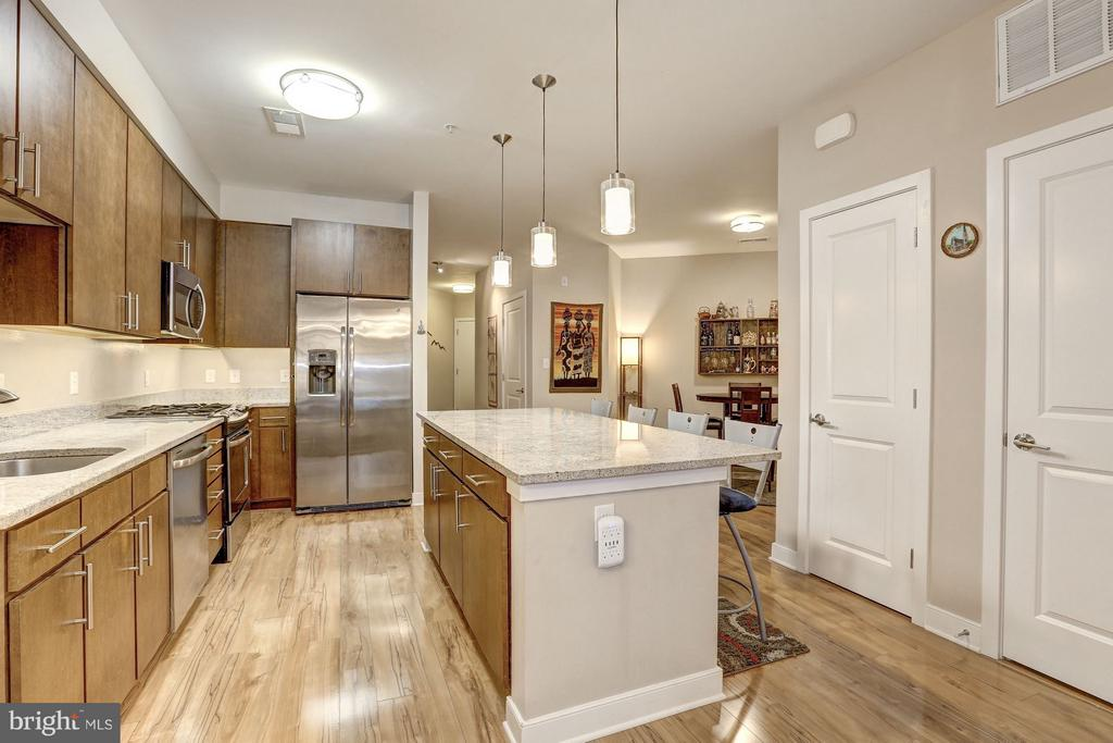 Large kitchen - 8005 13TH ST #302, SILVER SPRING