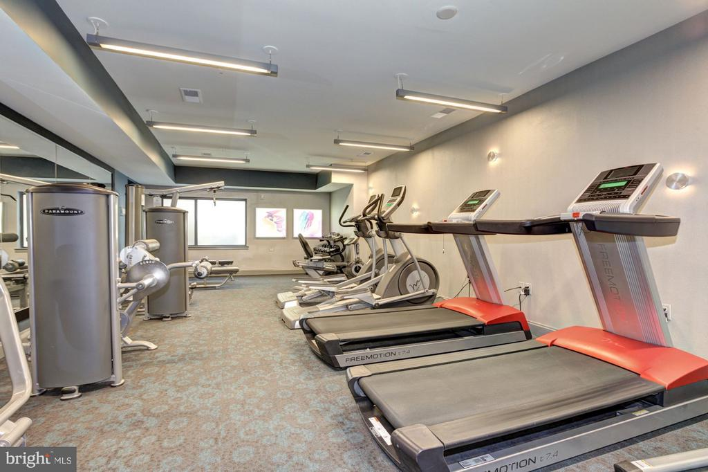 Fitness Center - 8005 13TH ST #302, SILVER SPRING