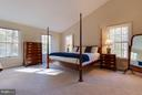 Master bedroom with tons of light - 9879 HEMLOCK HILLS CT, MANASSAS