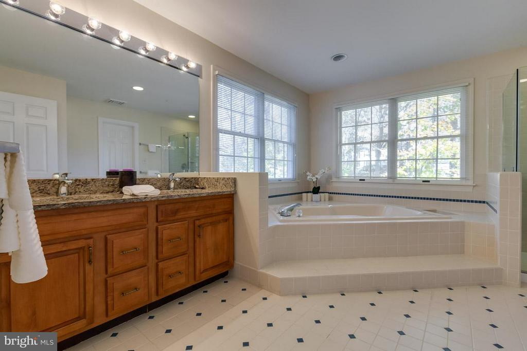 Dual sinks, jetted tub, sep shower, walk-in closet - 9879 HEMLOCK HILLS CT, MANASSAS
