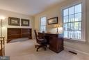 Main level office perfect for telecommuting - 9879 HEMLOCK HILLS CT, MANASSAS