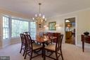 Gorgeous bay window lets the light pour in - 9879 HEMLOCK HILLS CT, MANASSAS