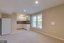 Kitchenette for au-pair suite - 9879 HEMLOCK HILLS CT, MANASSAS
