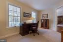 Main level office off foyer - 9879 HEMLOCK HILLS CT, MANASSAS