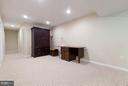 Additional basement space, storage beyond - 9879 HEMLOCK HILLS CT, MANASSAS