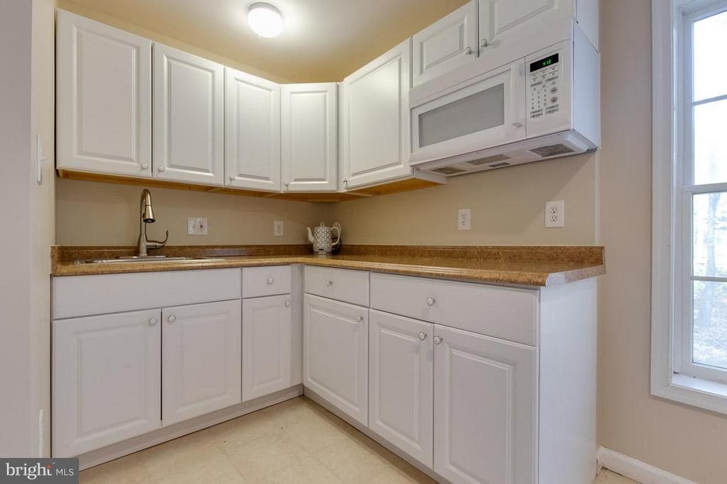 Lower level au-pair kitchenette - 9879 HEMLOCK HILLS CT, MANASSAS