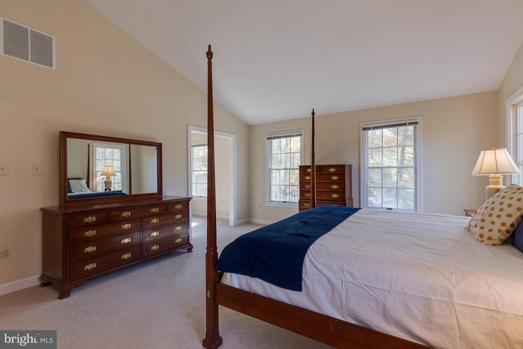 Huge master suite with vaulted - 9879 HEMLOCK HILLS CT, MANASSAS
