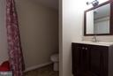 Lower level full bathroom - 9879 HEMLOCK HILLS CT, MANASSAS