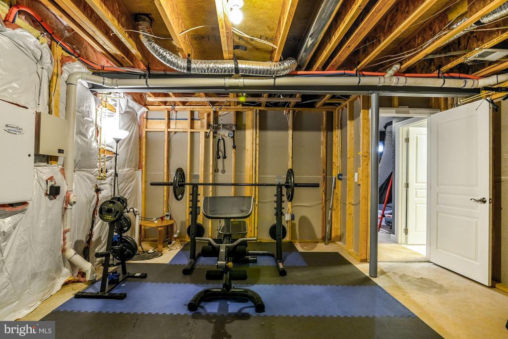 Basement - 5651 SPRIGGS MEADOW DR, WOODBRIDGE