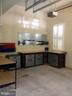 Third bay with workbench - 9407 BRAMBLY LN, ALEXANDRIA