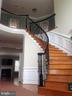 Elegant Curved Stairway - 9407 BRAMBLY LN, ALEXANDRIA