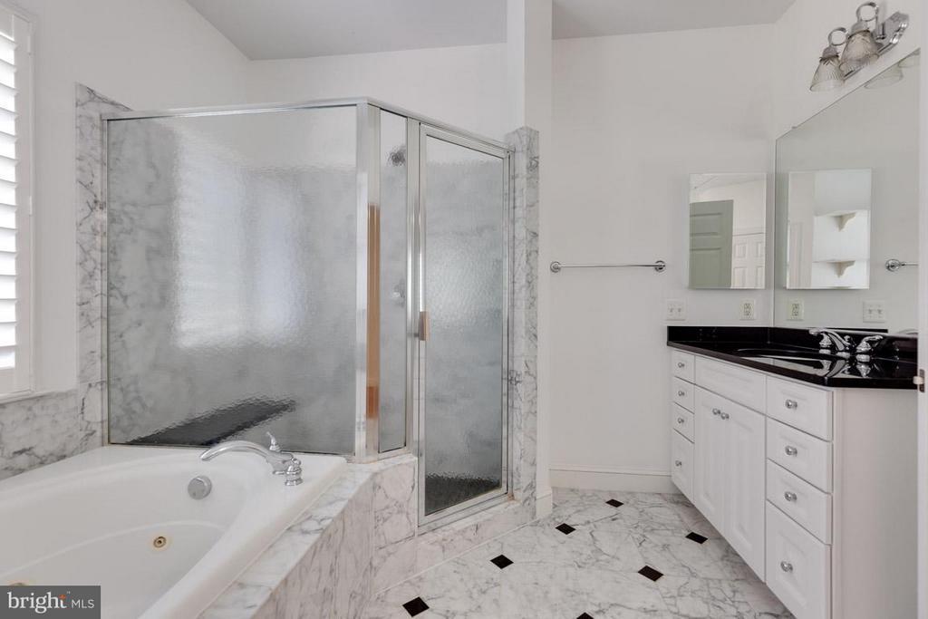 Bath (Master) - 9407 BRAMBLY LN, ALEXANDRIA