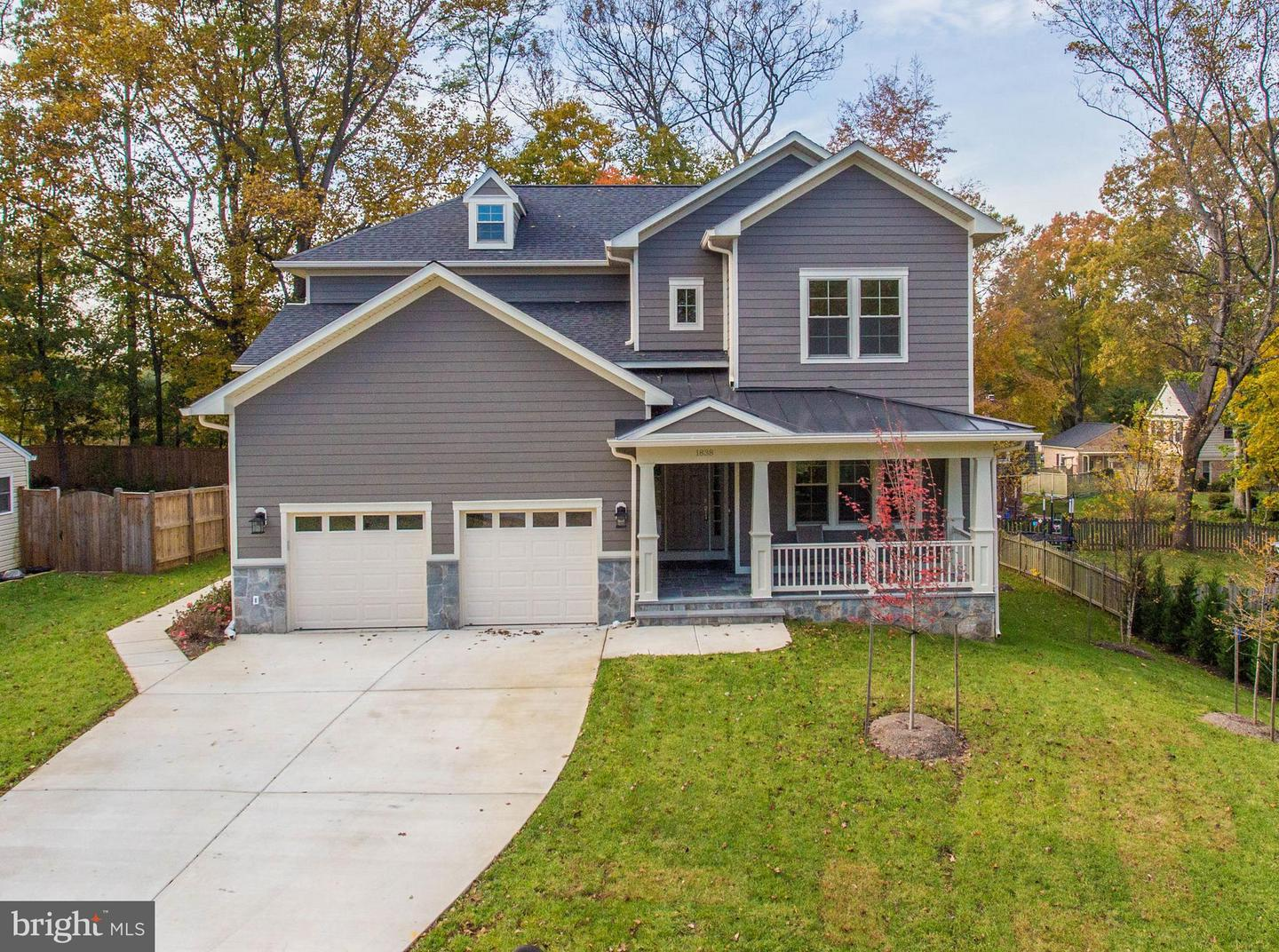 Photo of home for sale at 1838 Toyon Way, Vienna VA