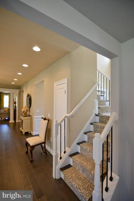 Rear Stairs - Photo Similar to Home Being Built - 20556 KEIRA CT, STERLING