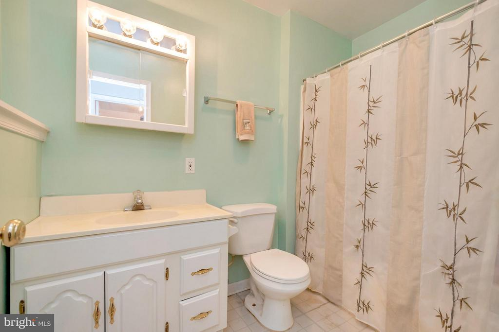 Lower level full bath - 4994 MARSHLAKE LN, DUMFRIES