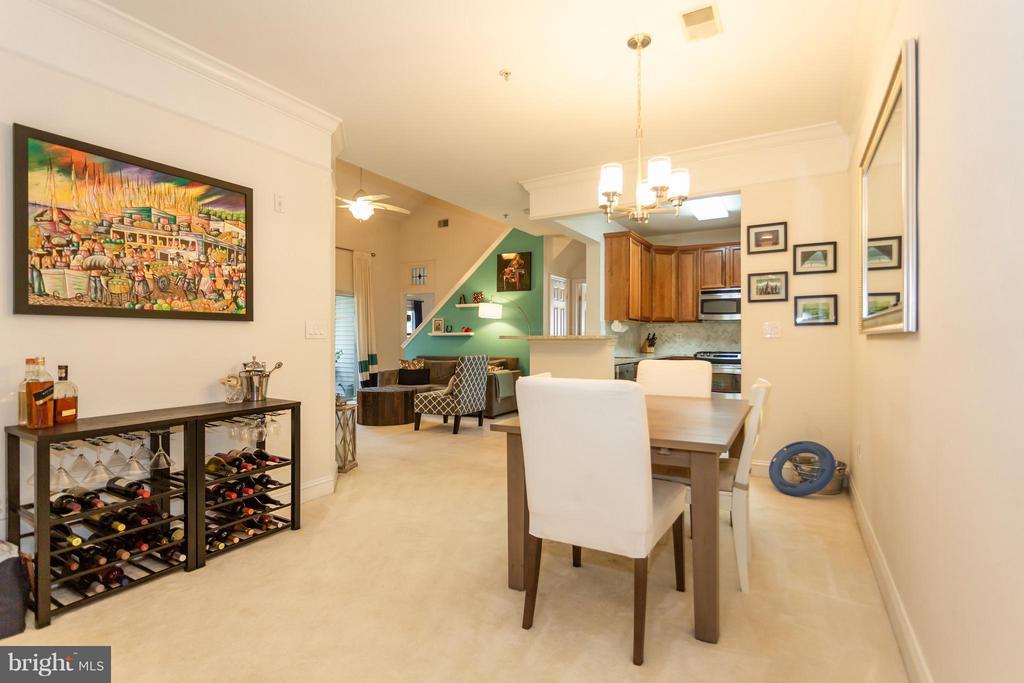 Dining Room off of Kitchen - 11314 WESTBROOK MILL LN #303, FAIRFAX