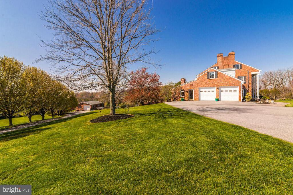 View of Barn - 2311 GILLIS RD, MOUNT AIRY