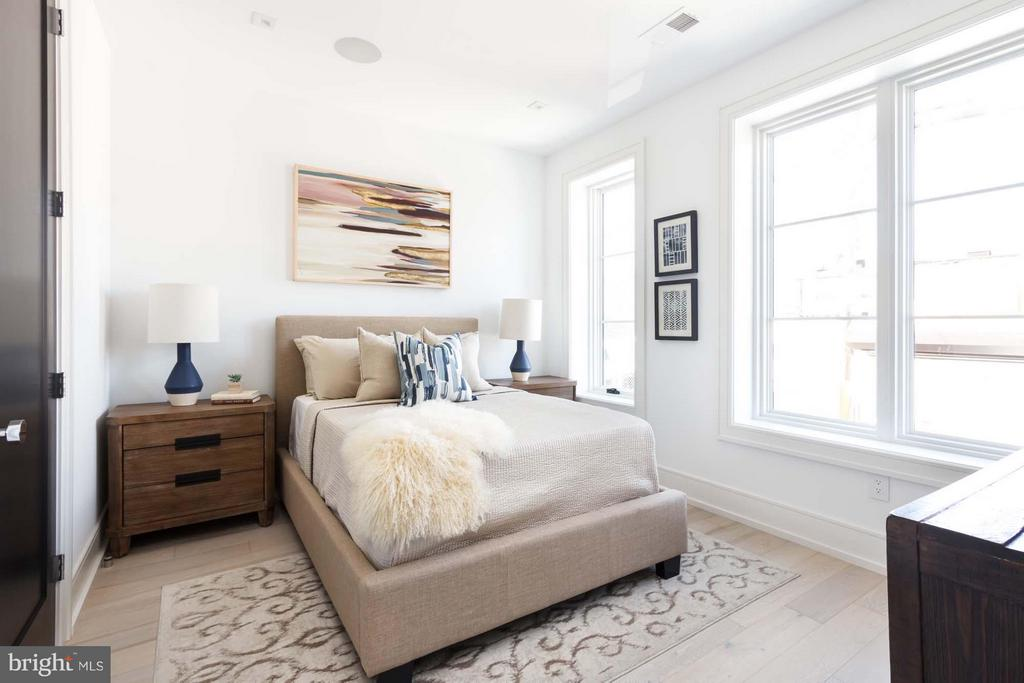 Bedroom 1 - 727 EUCLID ST NW #B, WASHINGTON