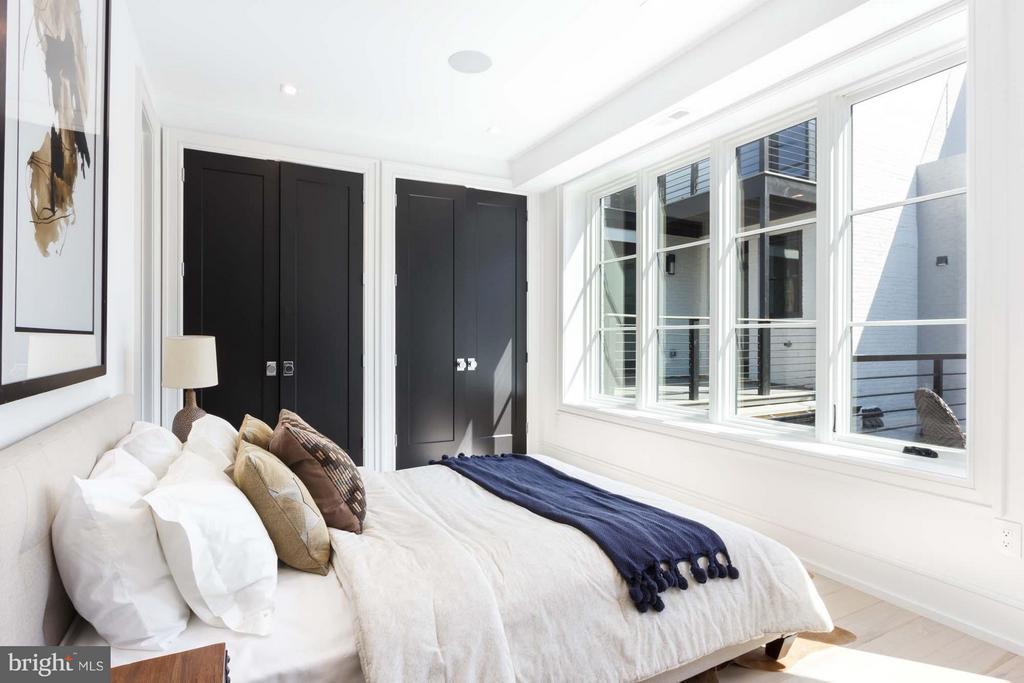 Bedroom 3 - 727 EUCLID ST NW #B, WASHINGTON