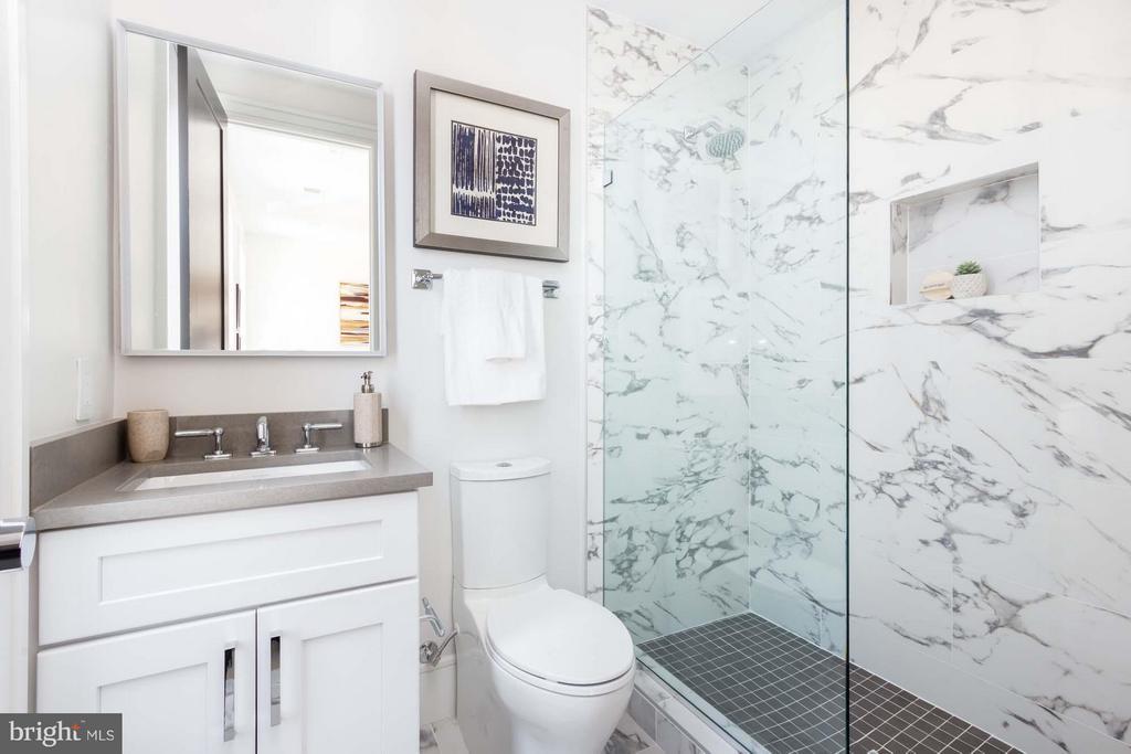 One of Four Full Baths - 727 EUCLID ST NW #B, WASHINGTON