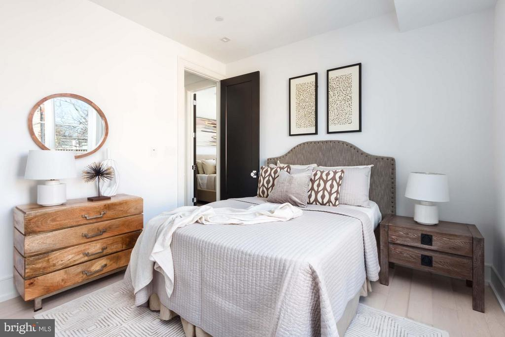 Bedroom 2 - 727 EUCLID ST NW #B, WASHINGTON