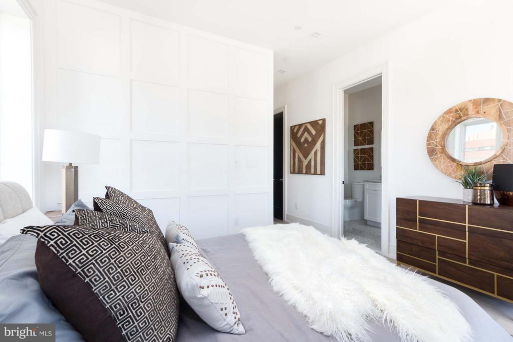 Bedroom (Master) - 727 EUCLID ST NW #B, WASHINGTON