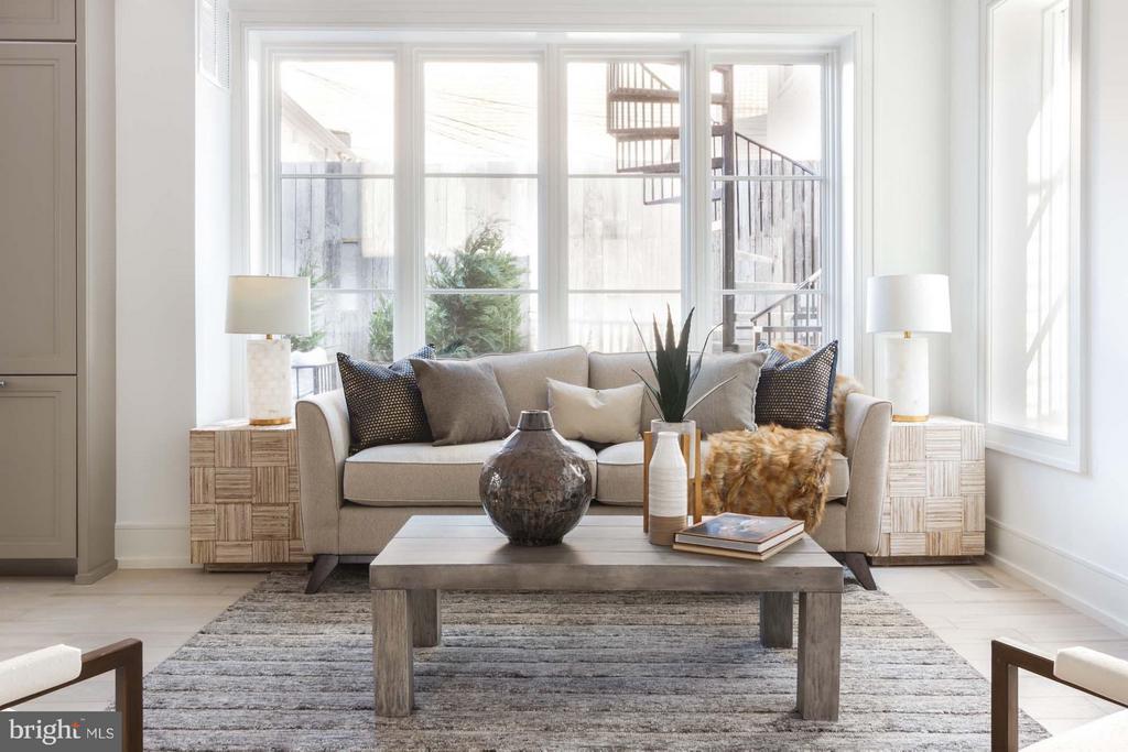 Spacious & Luminous Floor Plan - 727 EUCLID ST NW #B, WASHINGTON