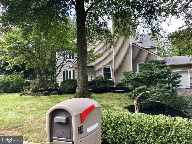 단독 가정 주택 용 매매 에 40 WOODLANE Road Lawrenceville, 뉴저지 08648 미국에서/약: Lawrence Township