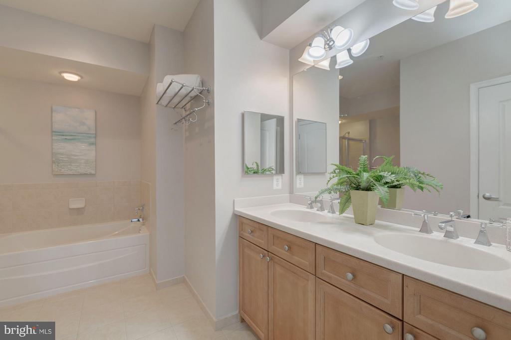 Spa-like master bath - 1115 CAMERON ST #305, ALEXANDRIA