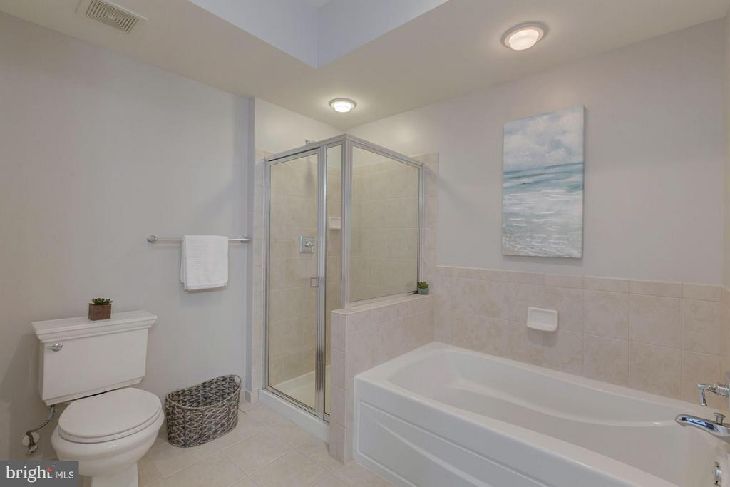 Seperate tub and shower - 1115 CAMERON ST #305, ALEXANDRIA