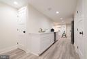 Basement kitchenette - 642 COLUMBIA RD NW, WASHINGTON