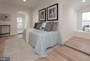 3rd floor Bedroom - 642 COLUMBIA RD NW, WASHINGTON