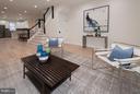 Living Room - 642 COLUMBIA RD NW, WASHINGTON