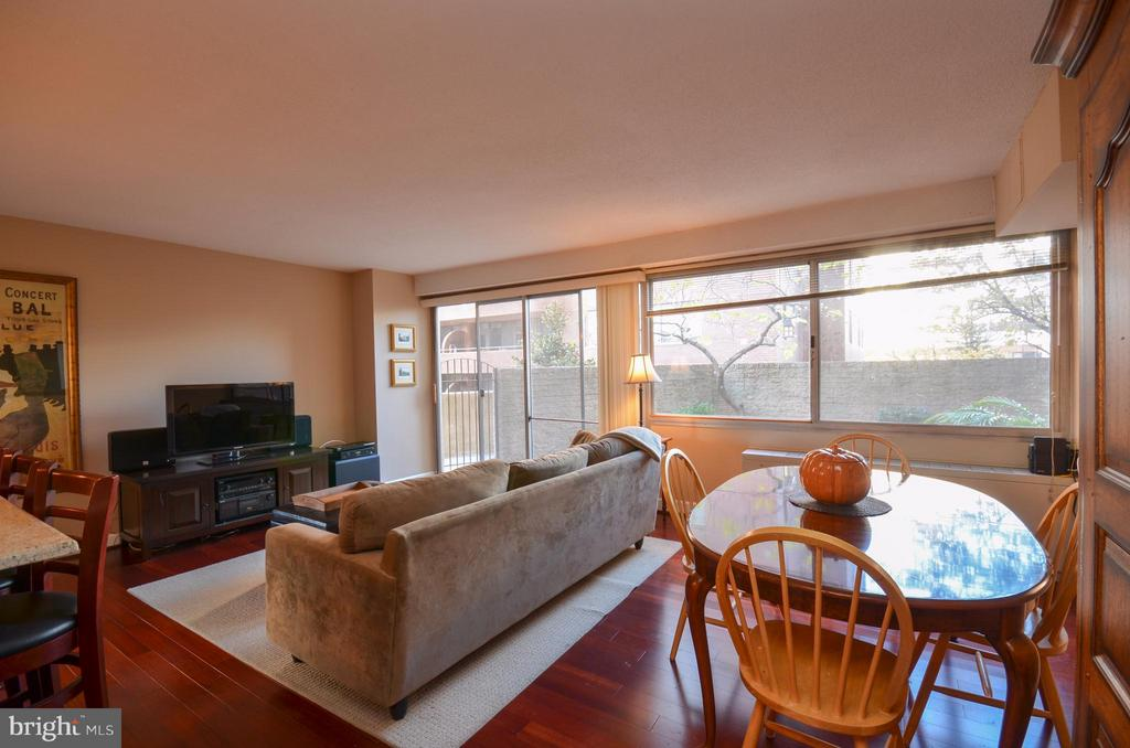 Living Room - 5500 FRIENDSHIP BLVD #817N, CHEVY CHASE