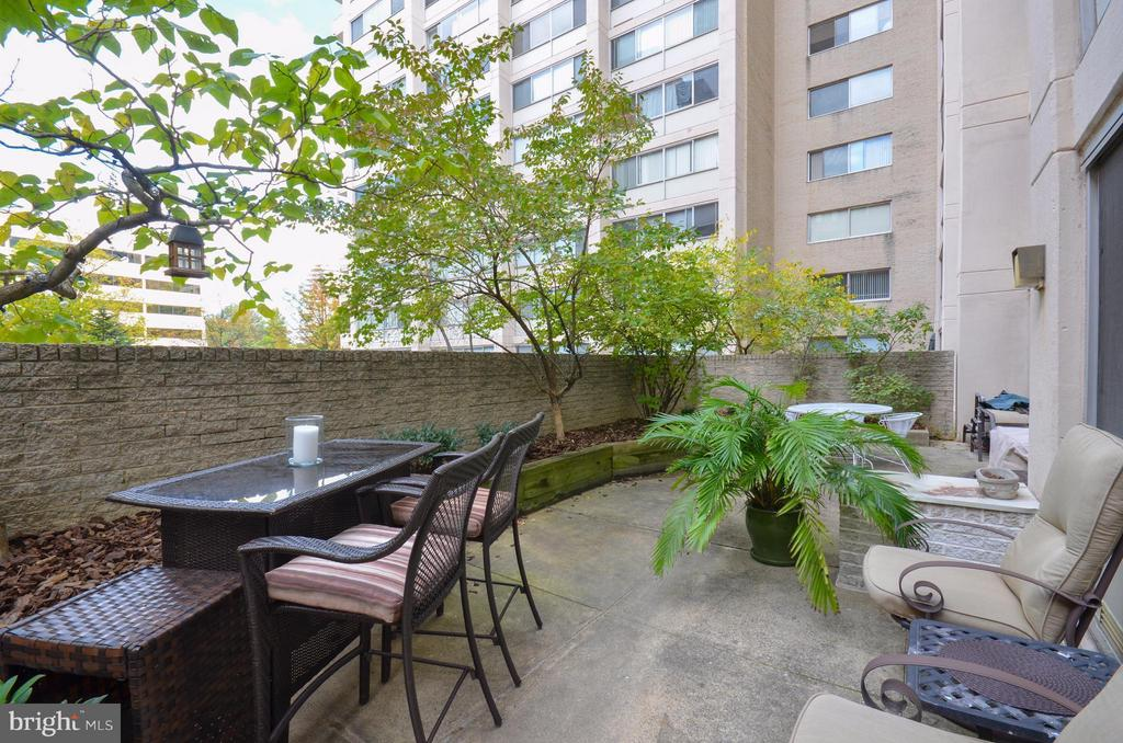 Enormous Private Balcony! - 5500 FRIENDSHIP BLVD #817N, CHEVY CHASE