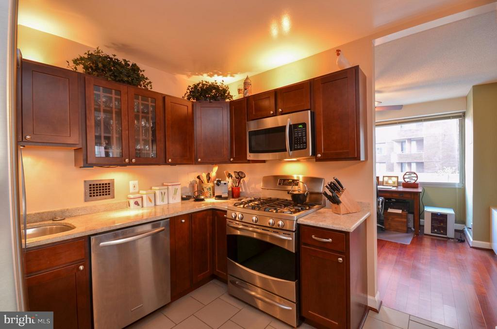 Kitchen Recently Updated W/ Quality Materials. - 5500 FRIENDSHIP BLVD #817N, CHEVY CHASE