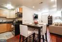 Living-Dining-Kitchen area - 1138 FLORIDA AVE NE #1, WASHINGTON