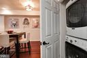 Laundry in-unit - 1138 FLORIDA AVE NE #1, WASHINGTON
