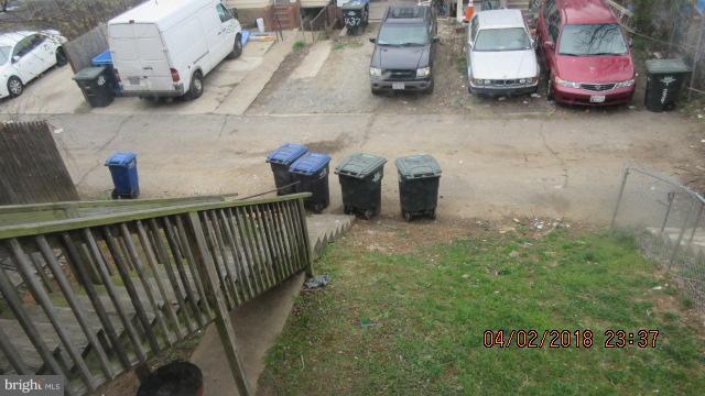 Exterior (Rear) - 1240 18TH ST NE #4, WASHINGTON