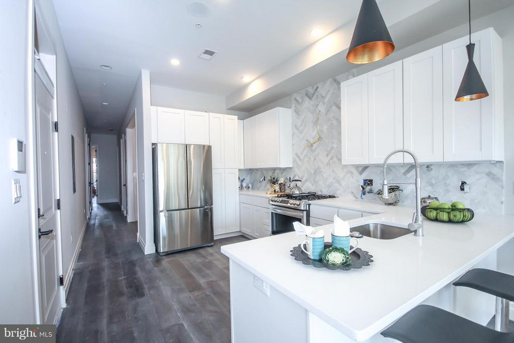 Kitchen* Missing a few finishes completed - 3217 WARDER ST NW #1, WASHINGTON