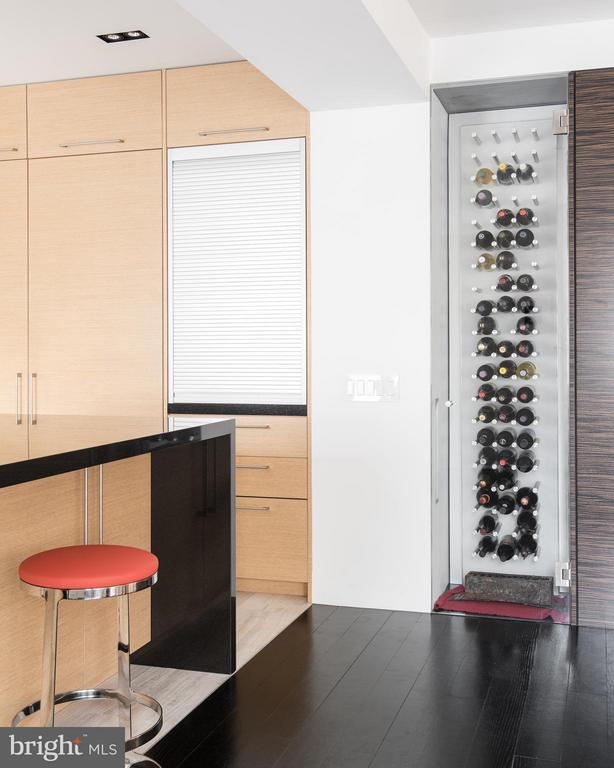 Appliance garage. Custom lit wine area - 2101 CONNECTICUT AVE NW #24, WASHINGTON