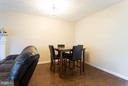 Dining area - 9094 FLORIN WAY, UPPER MARLBORO