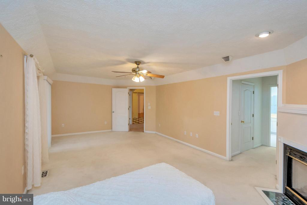Very spacious master with tray ceilings - 118 JEFFERSON AVE, LOCUST GROVE