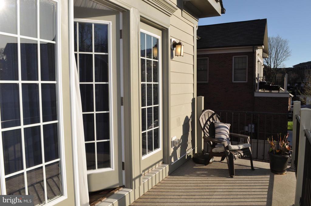 Bedroom (Master) balcony - 6134 NEW HAMPSHIRE AVE NE, WASHINGTON