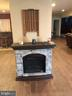 Electric fireplace in L/L. - 6 SCARLET FLAX CT, STAFFORD