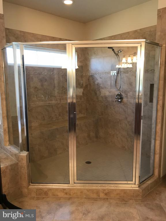 Master Shower. - 6 SCARLET FLAX CT, STAFFORD