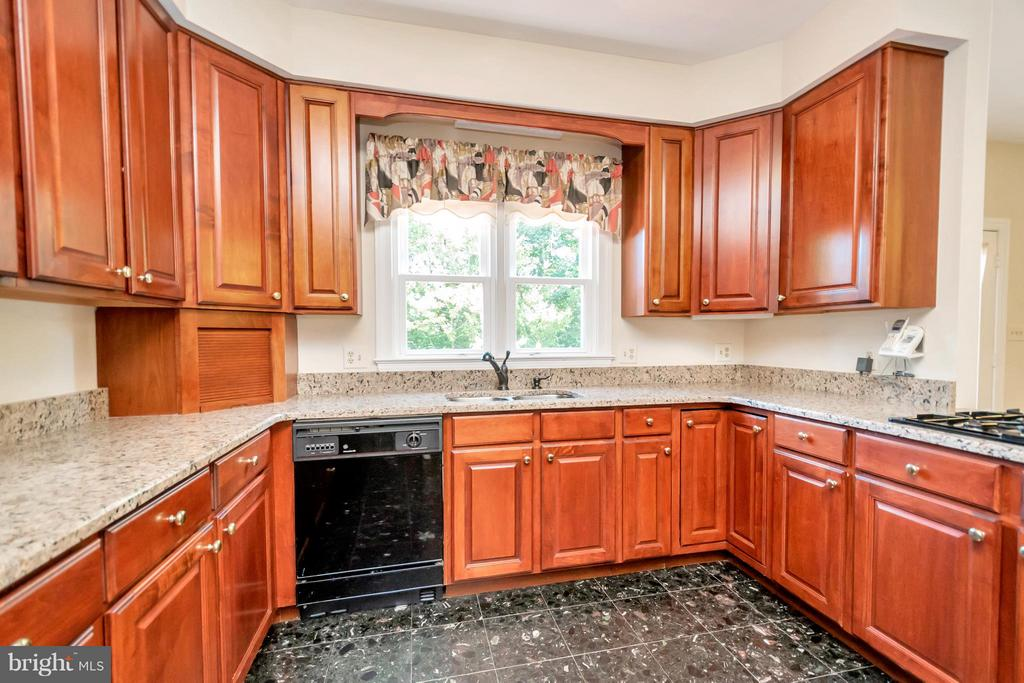 Granite counters and lots of cabinets - 5807 WESTCHESTER ST, ALEXANDRIA