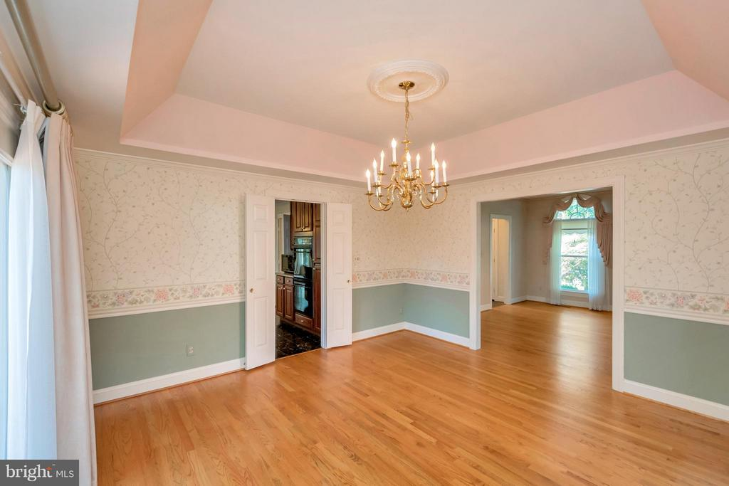 View from Dining Room - 5807 WESTCHESTER ST, ALEXANDRIA
