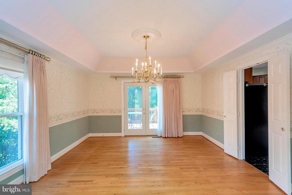 Formal Dining Room - 5807 WESTCHESTER ST, ALEXANDRIA